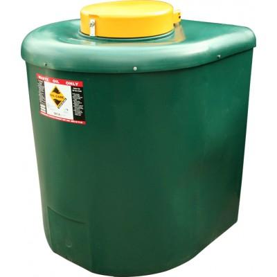 710 Litre bunded waste oil tank