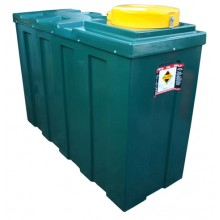 1070 Litre bunded waste oil tank