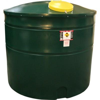 5000 Litre bunded waste oil tank