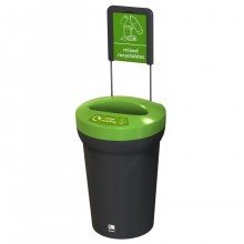 Arena recycling bin
