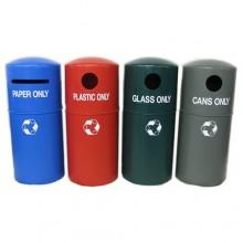 Recycling Bin Hooded Top