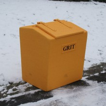 8 cu ft 224 L heavy duty grit bin