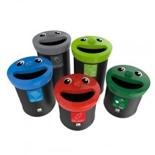 Novelty Face Bins Group