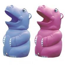 Hippo Bin - Henry and Henrietta