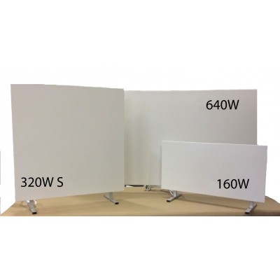 160W Infrared heating panel floor standing