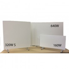 320W Square Infrared heating panel floor standing