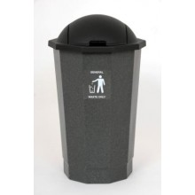 General Waste Bank with Flap
