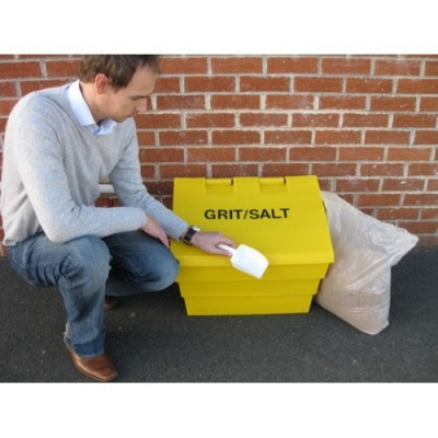 Mini Grit Bin - 50 Litre - 2 Cu Ft Winter pack