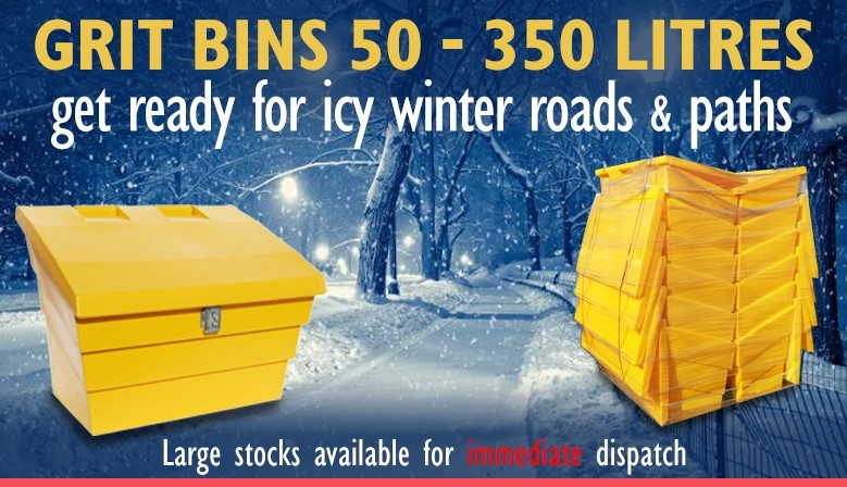 Grit bins available