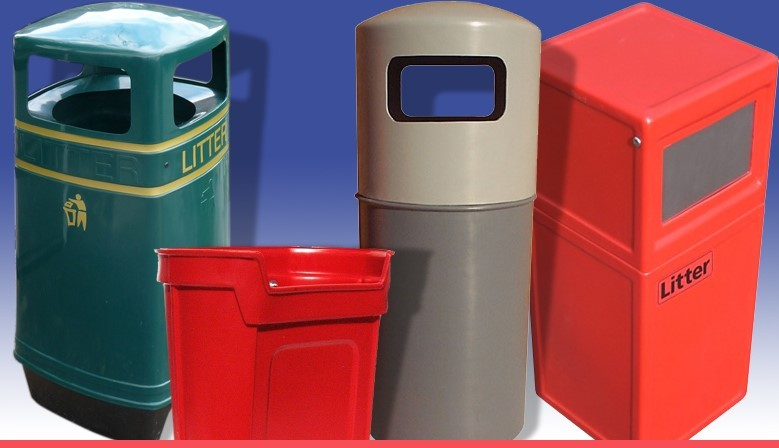 Litter bins - wide range of different types